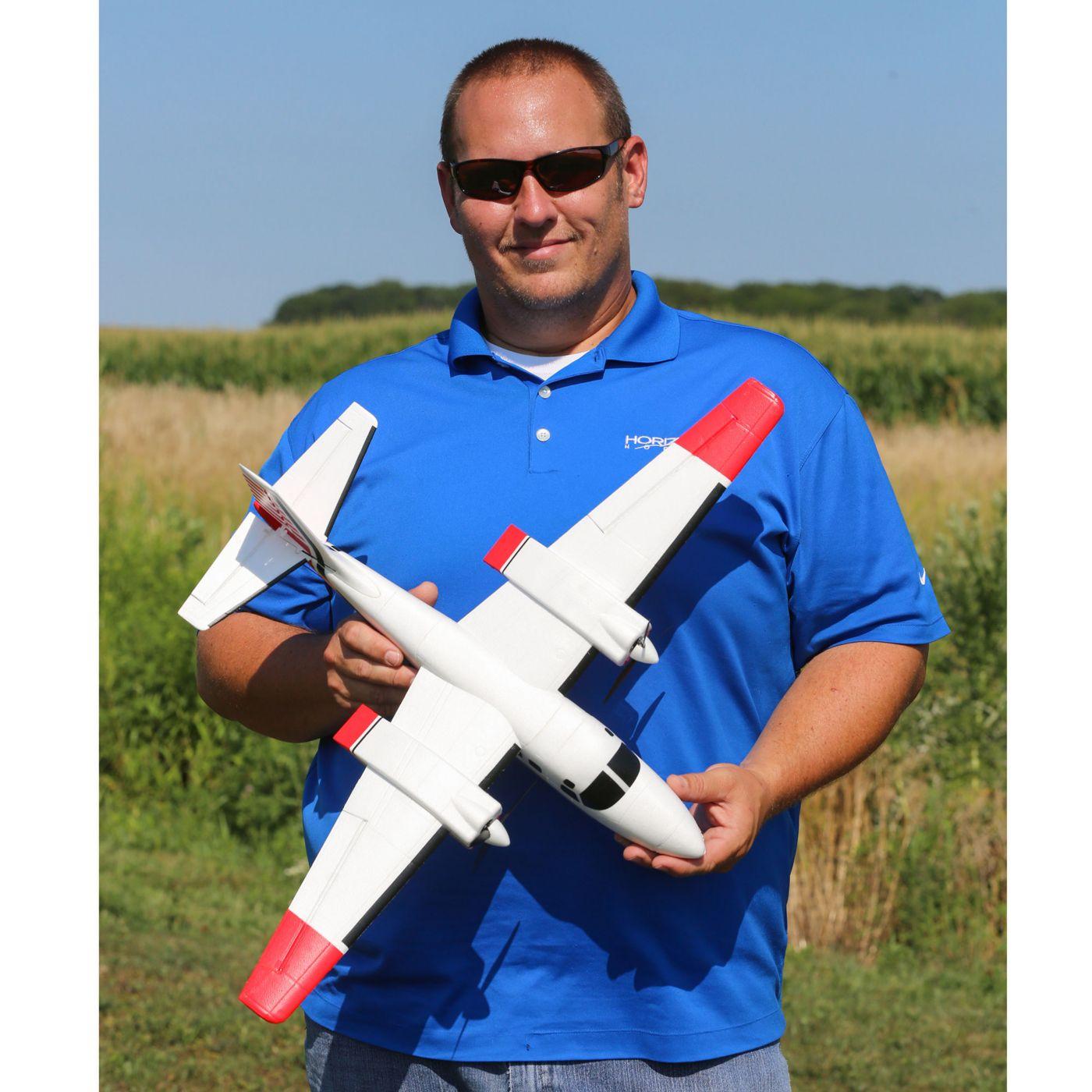 E-flite Aero Commander BNF Basic AS3X SAFE 04