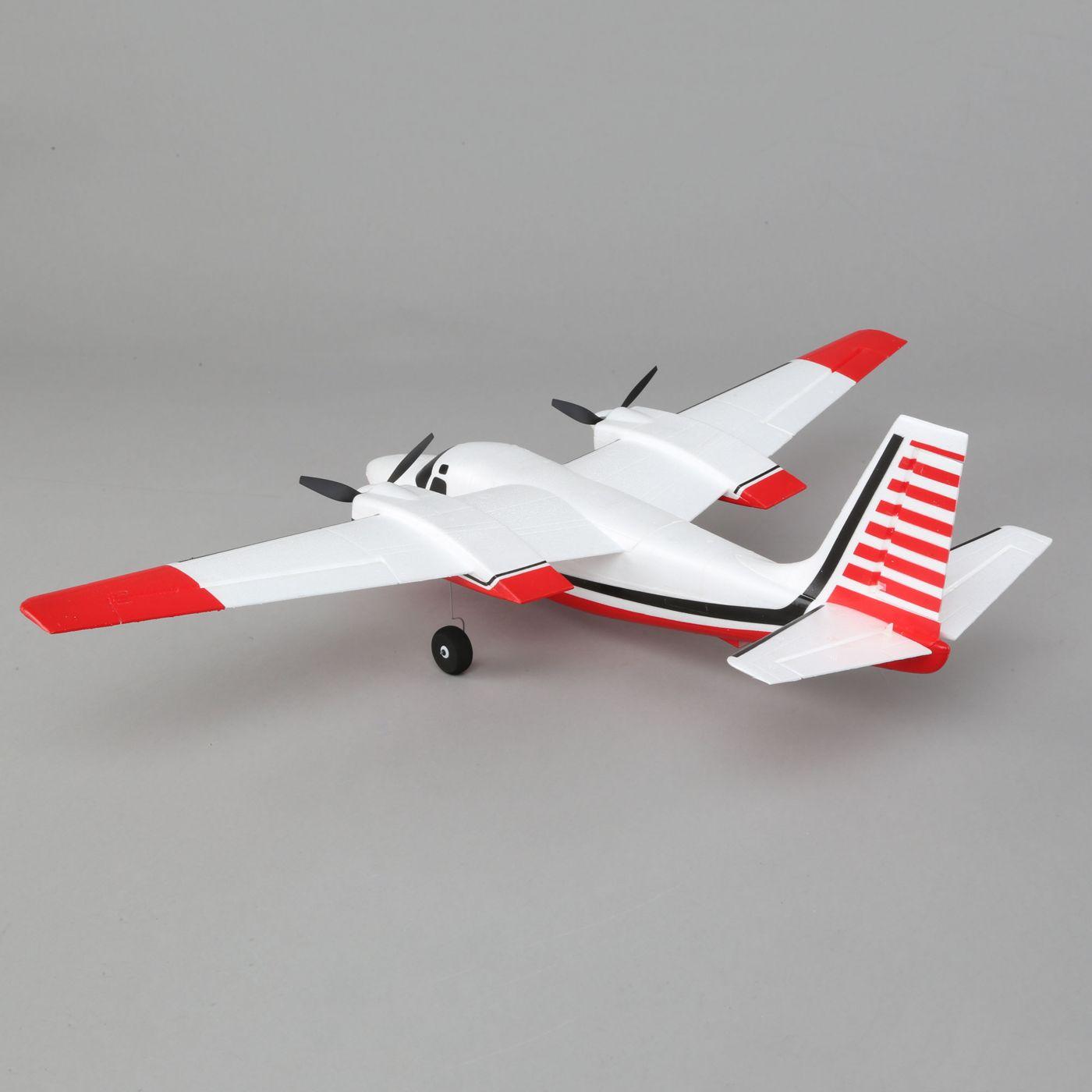 E-flite Aero Commander BNF Basic AS3X SAFE 05