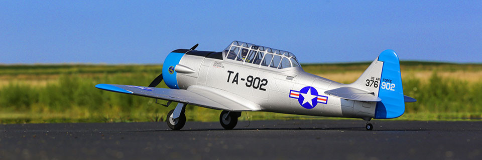 E-flite AT-6 Warbird bnf basic safe 02