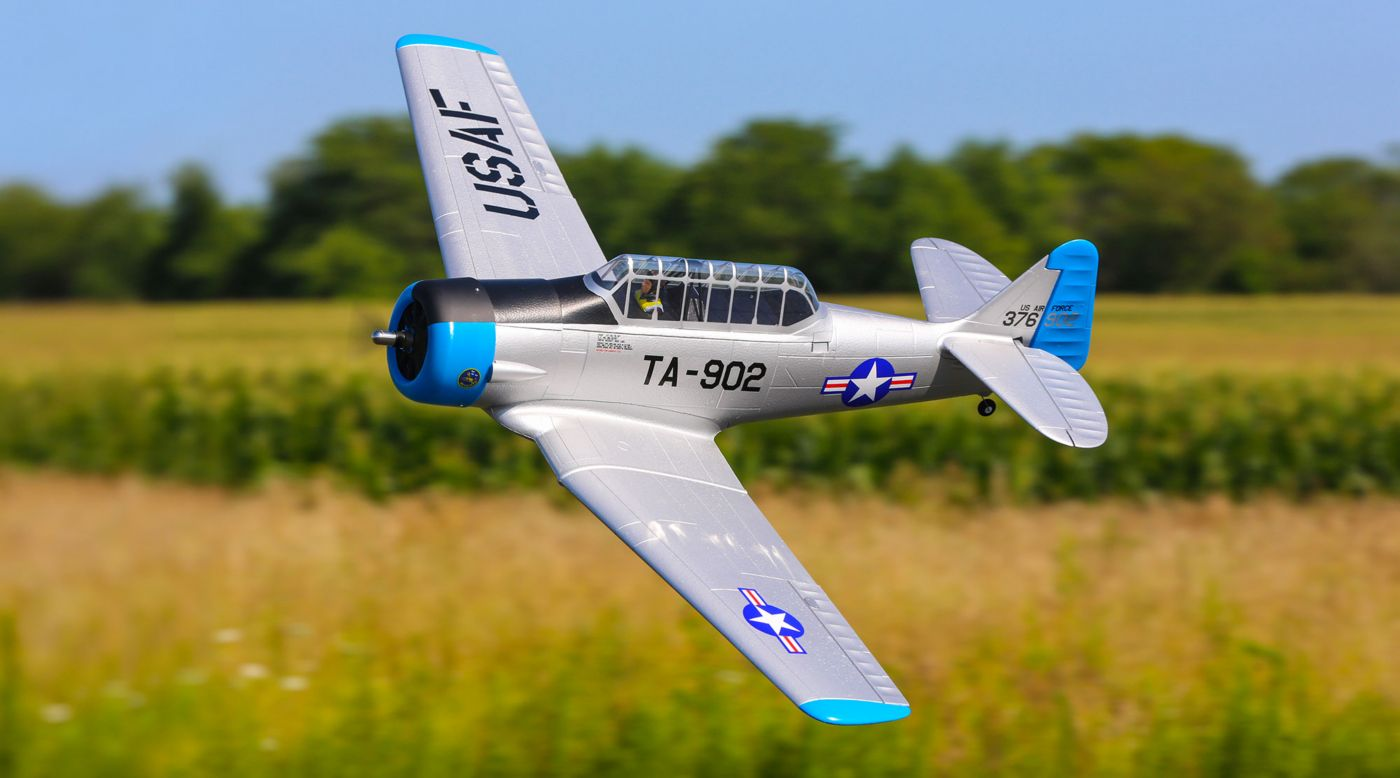 E-flite AT-6 Warbird bnf basic safe 03