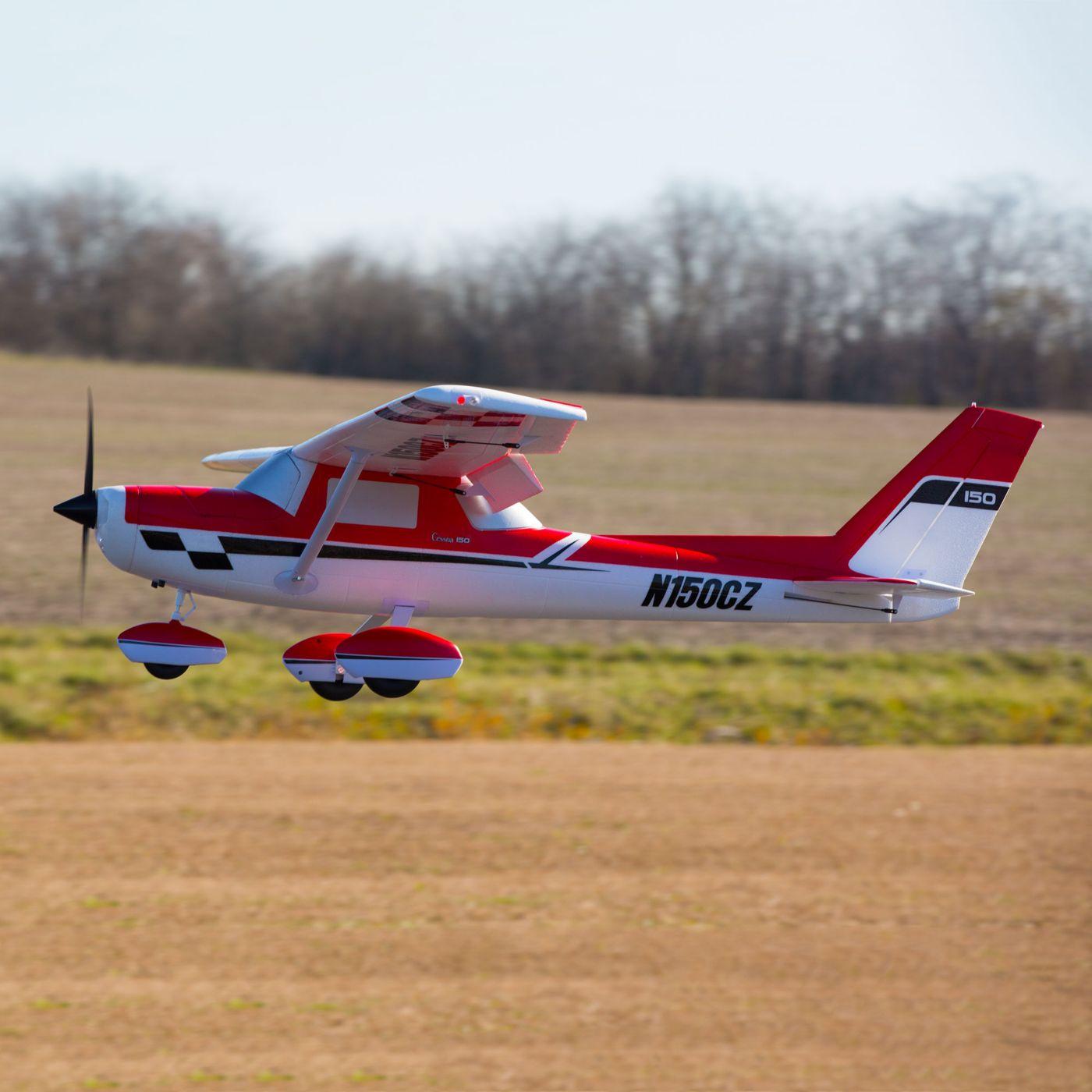 E-flite Carbon Z Cessna 150 2.1m BNF Basic 04