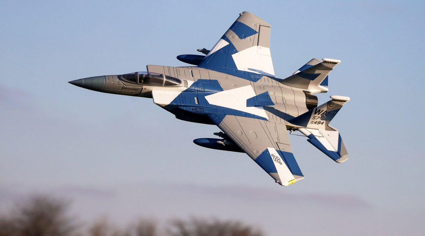 E-flite F-15 Eagle EDF 64mm BNF Basic Safe As3x 02