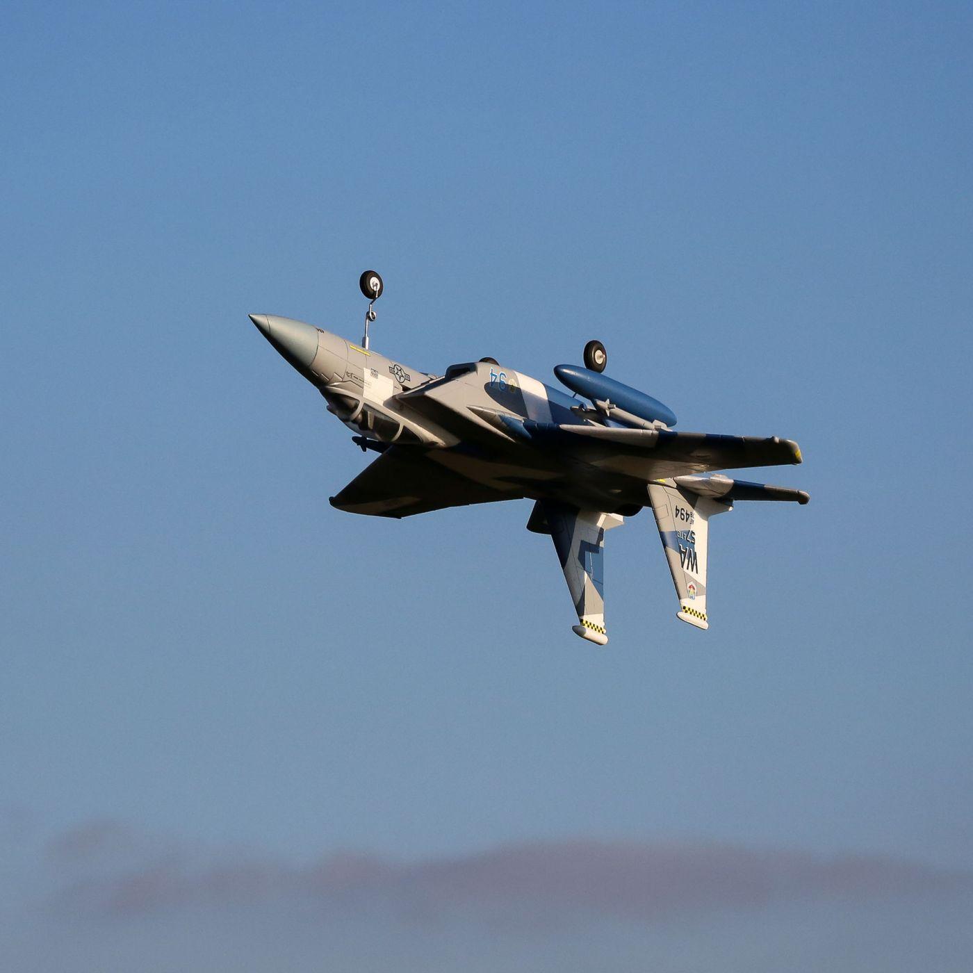 E-flite F-15 Eagle EDF 64mm BNF Basic Safe As3x 04