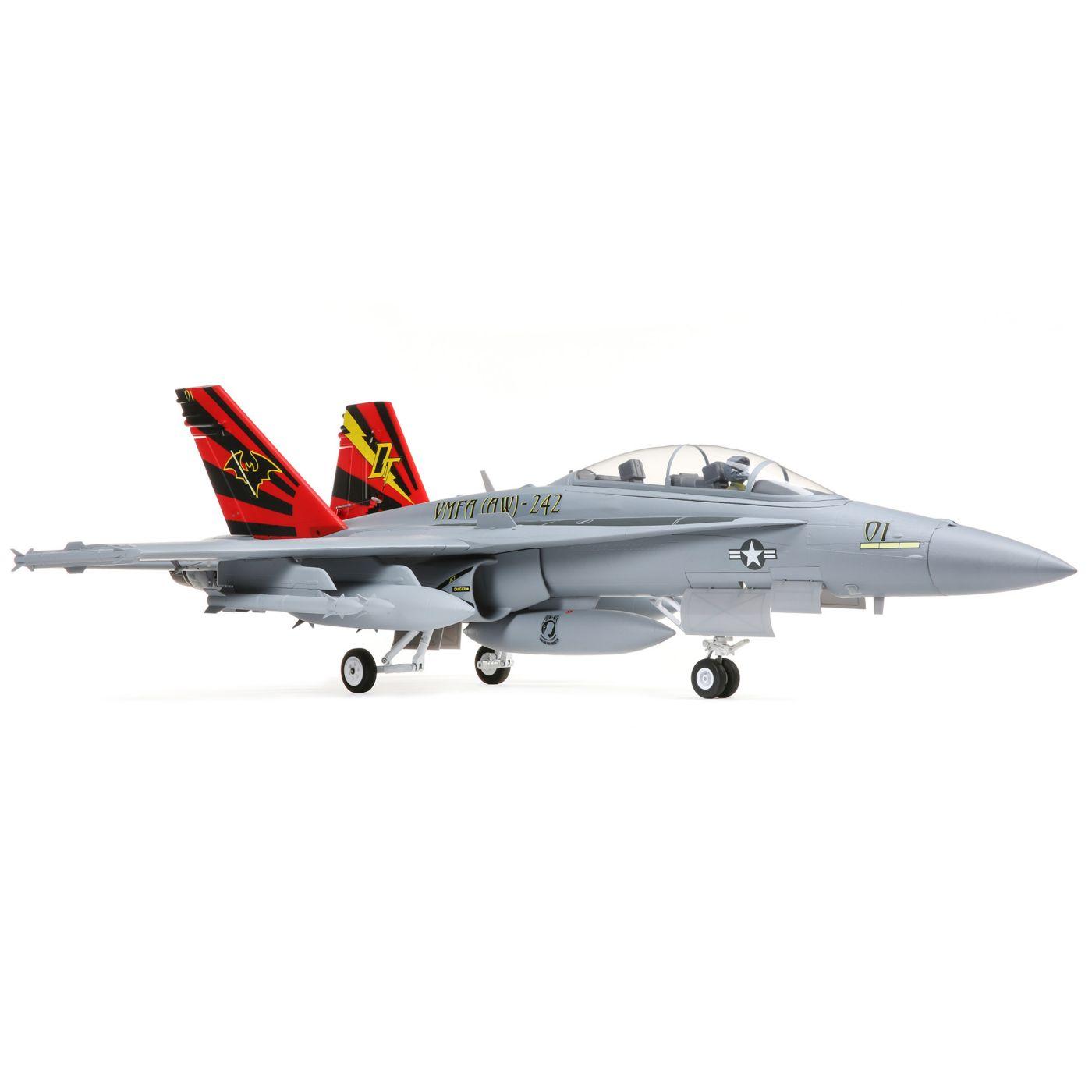 E-flite F-18 Hornet Jet EDF BNF Basic Safe 02