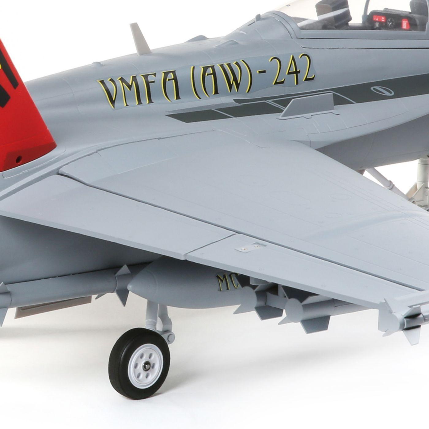 E-flite F-18 Hornet Jet EDF BNF Basic Safe 04