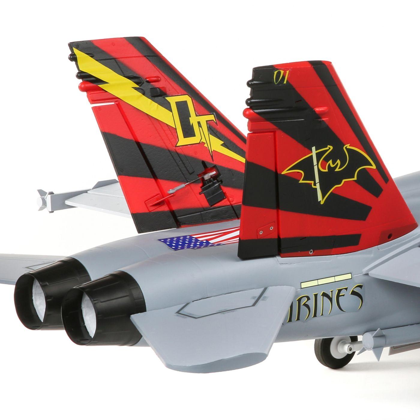 E-flite F-18 Hornet Jet EDF BNF Basic Safe 05