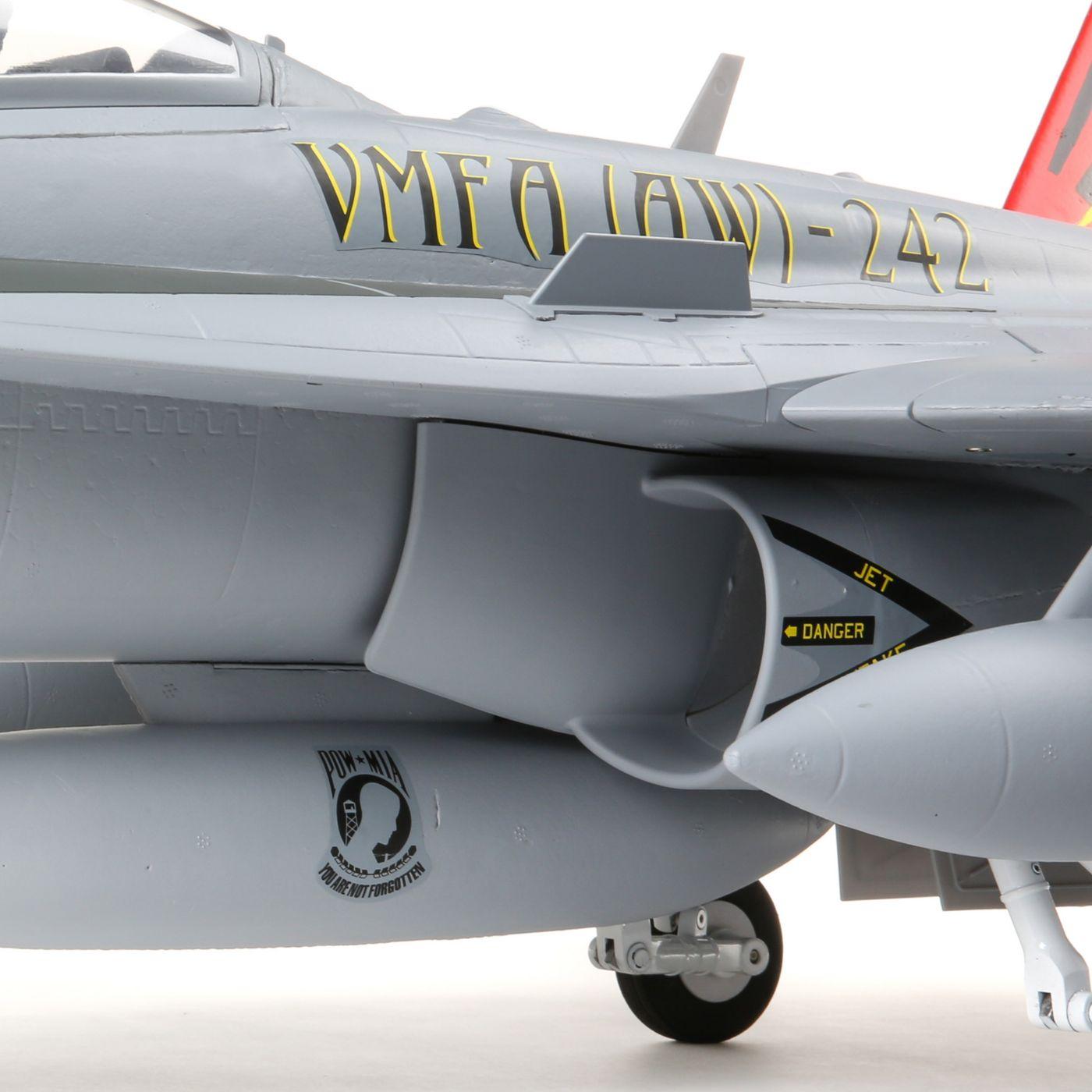 E-flite F-18 Hornet Jet EDF BNF Basic Safe 08