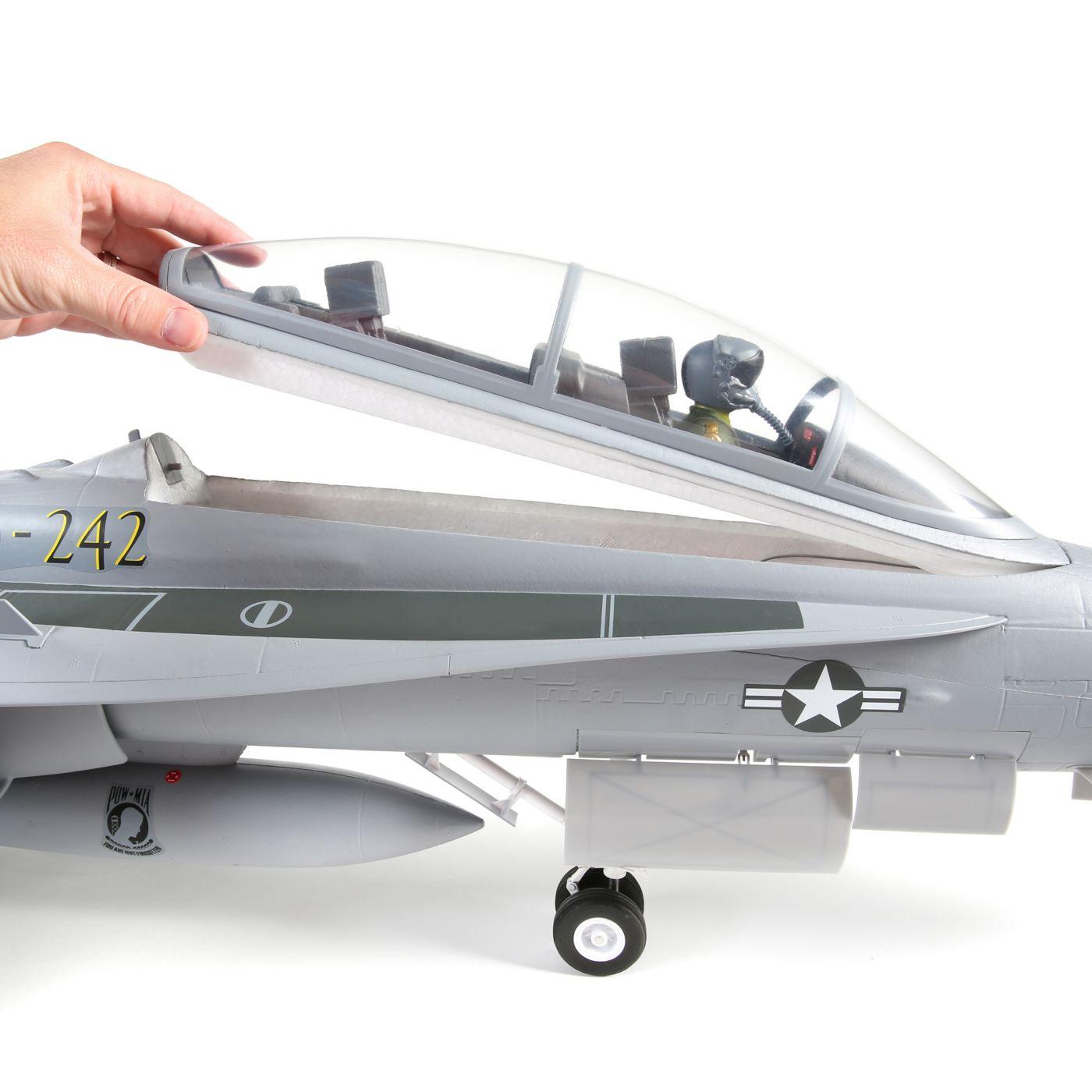 E-flite F-18 Hornet Jet EDF BNF Basic Safe 12