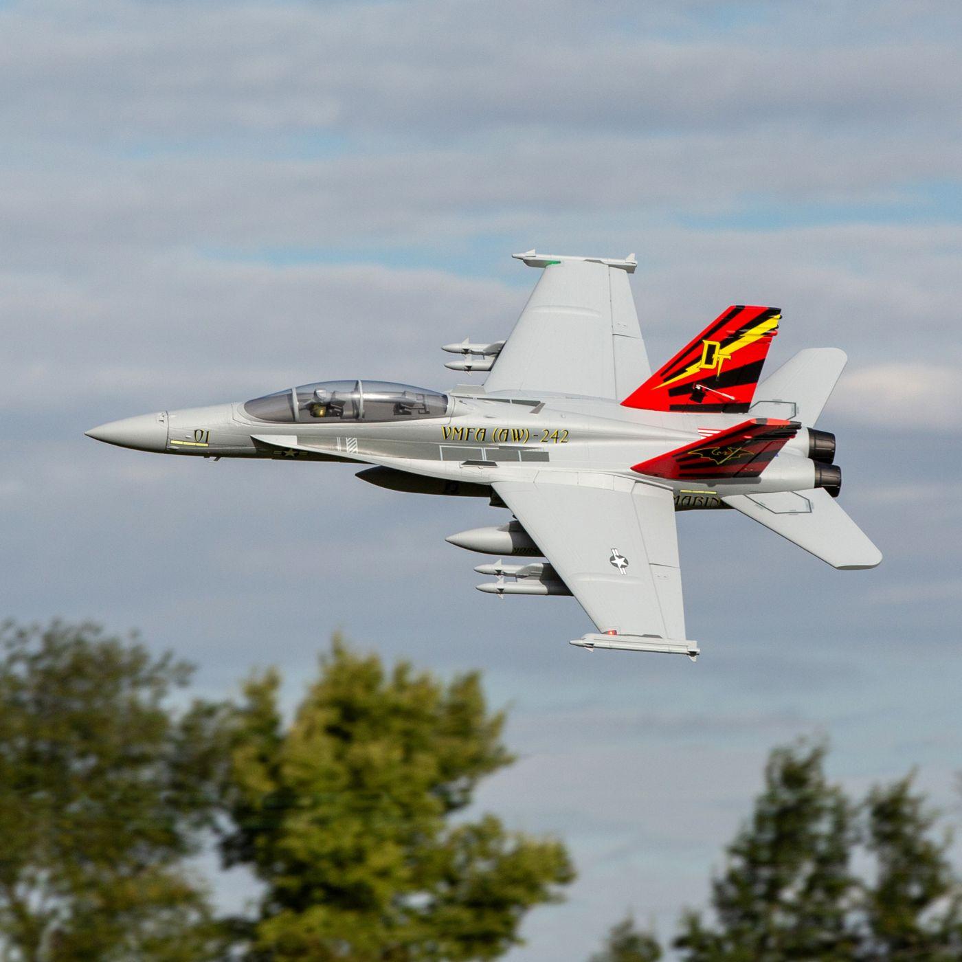 E-flite F-18 Hornet Jet EDF BNF Basic Safe 13