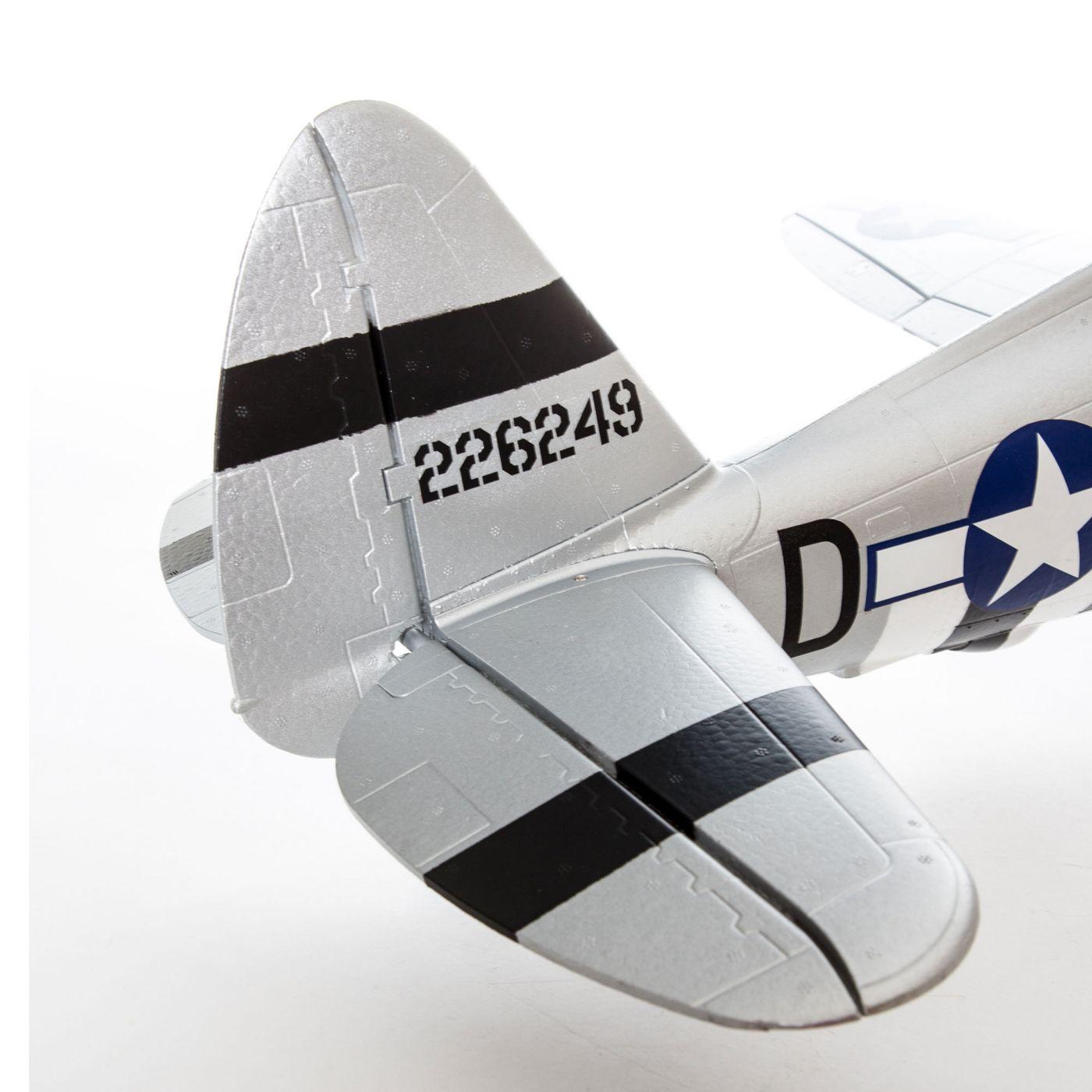 E-flite P-47 Razorback Warbird bnf basic safe 02
