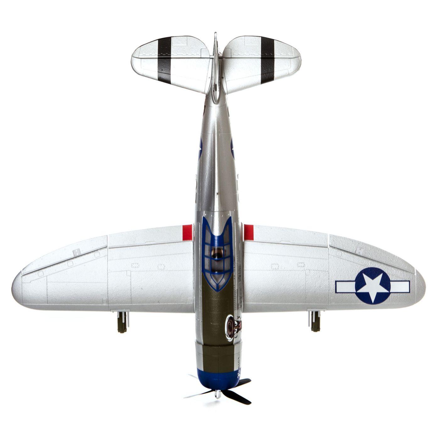E-flite P-47 Razorback Warbird bnf basic safe 05