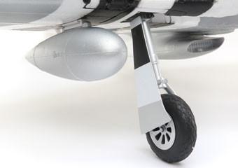 E-flite P-51d Mustang Warbird bnf basic safe 04