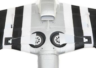 E-flite P-51d Mustang Warbird bnf basic safe 06