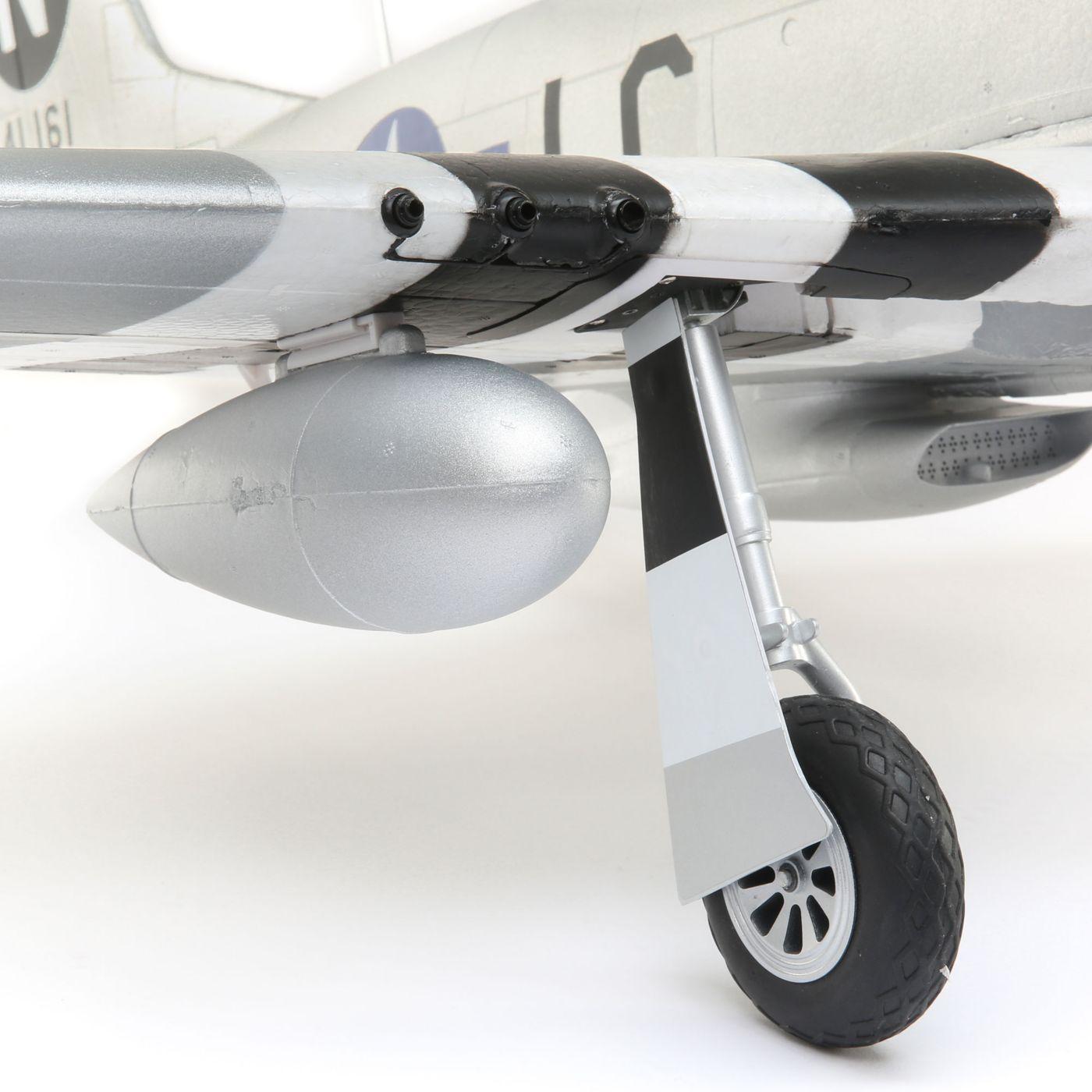 E-flite P-51d Mustang Warbird bnf basic safe 08