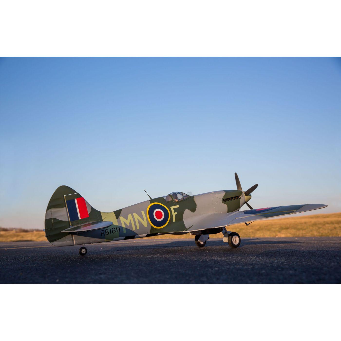 E-flite Spitfire MK Warbird bnf safe as3x 01