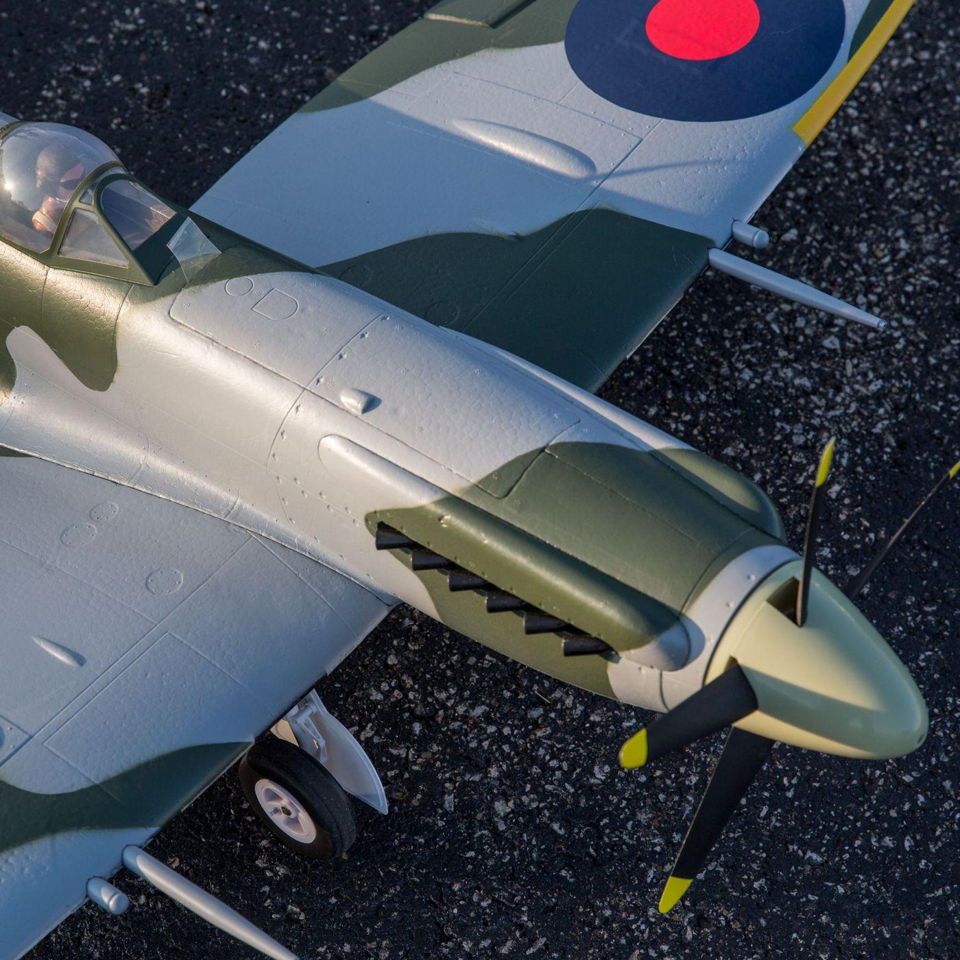 E-flite Spitfire MK Warbird bnf safe as3x 02