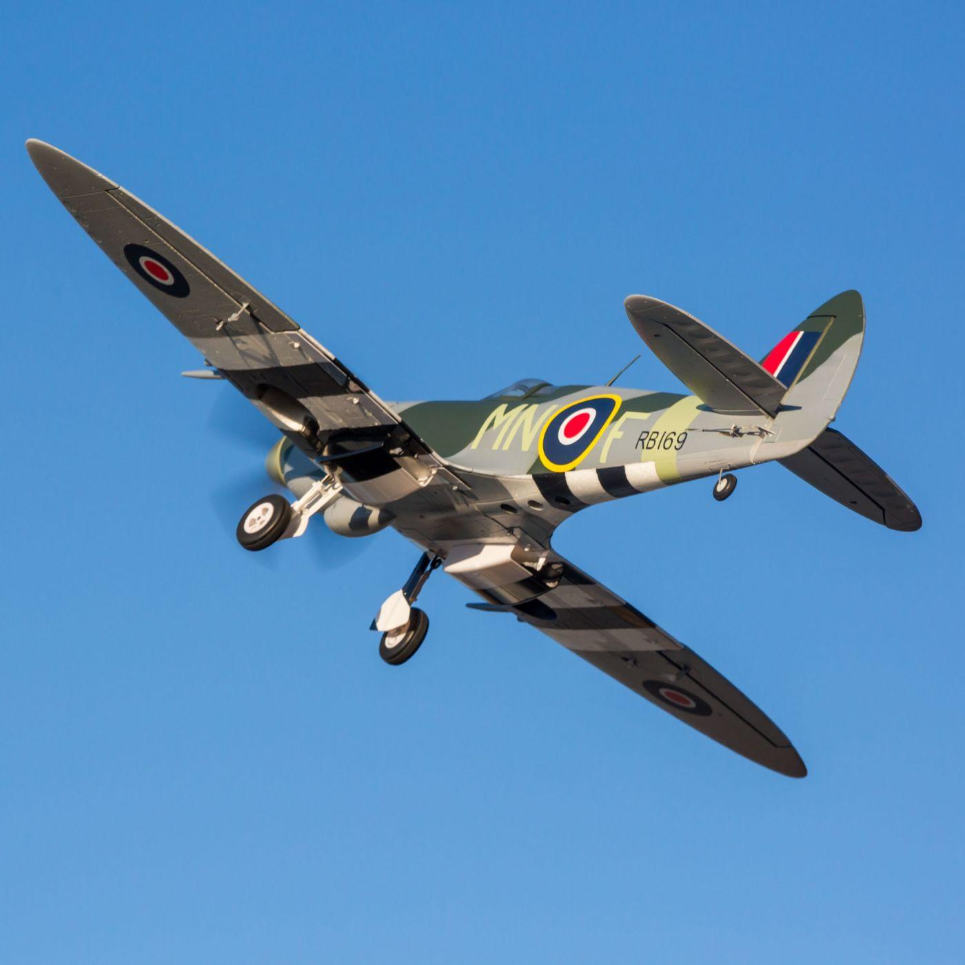 E-flite Spitfire MK Warbird bnf safe as3x 03