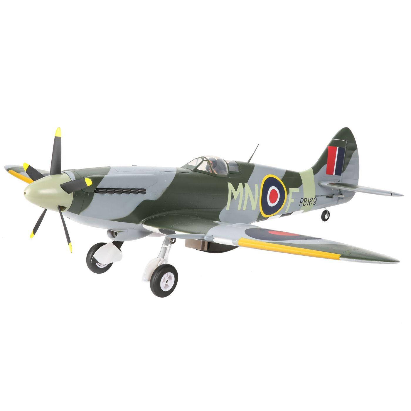 E-flite Spitfire MK Warbird bnf safe as3x 04