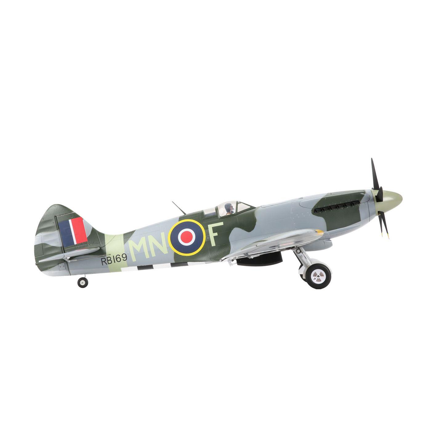 E-flite Spitfire MK Warbird bnf safe as3x 05