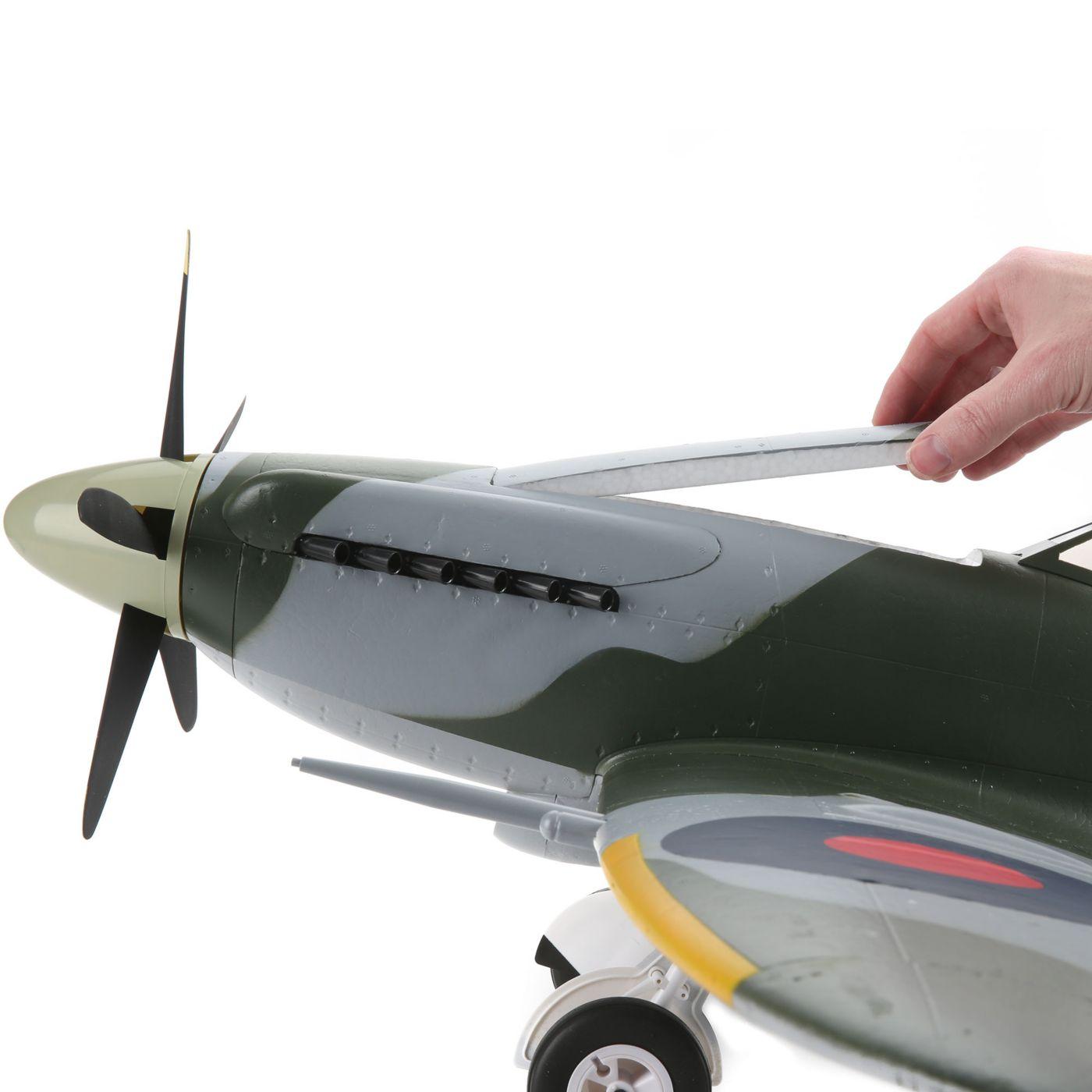 E-flite Spitfire MK Warbird bnf safe as3x 06