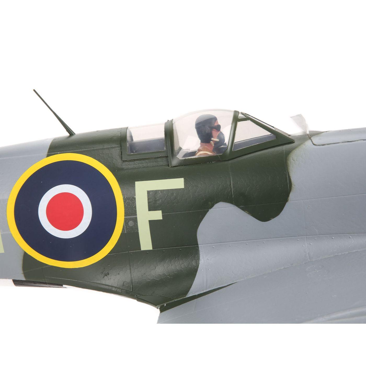 E-flite Spitfire MK Warbird bnf safe as3x 07