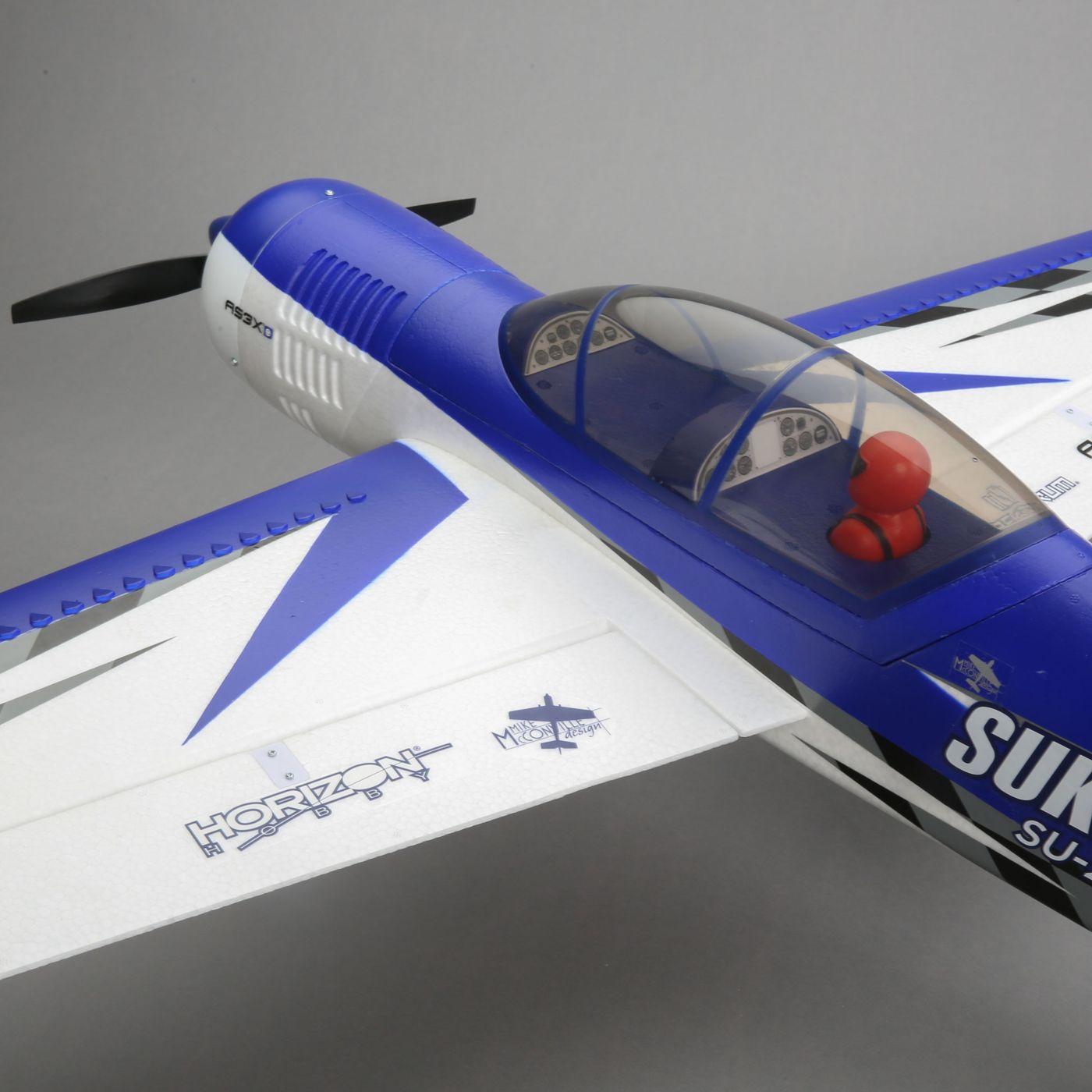 E-flite Sukhoi su-29 MM BNF Safe AS3X 1.1m 02