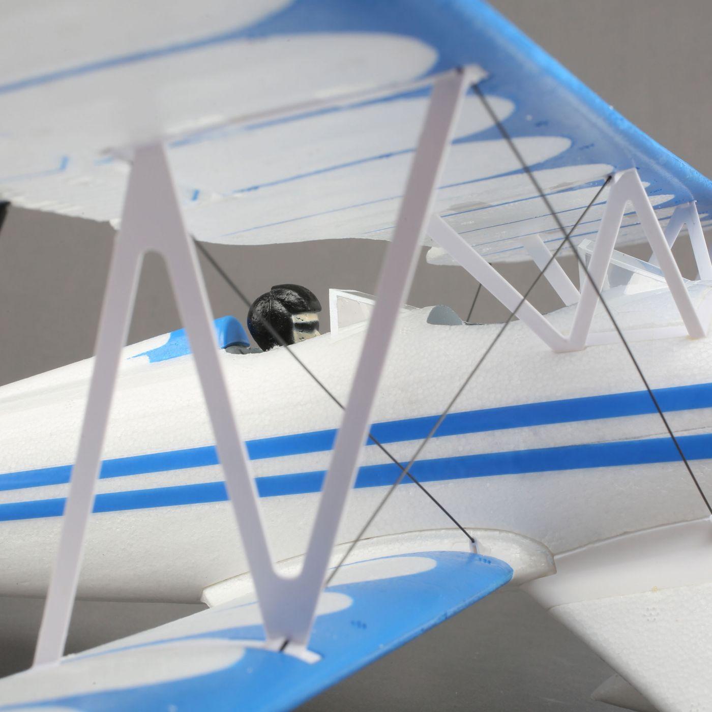 E-flite UMX Waco Biplano BL EDF BNF AS3X 04