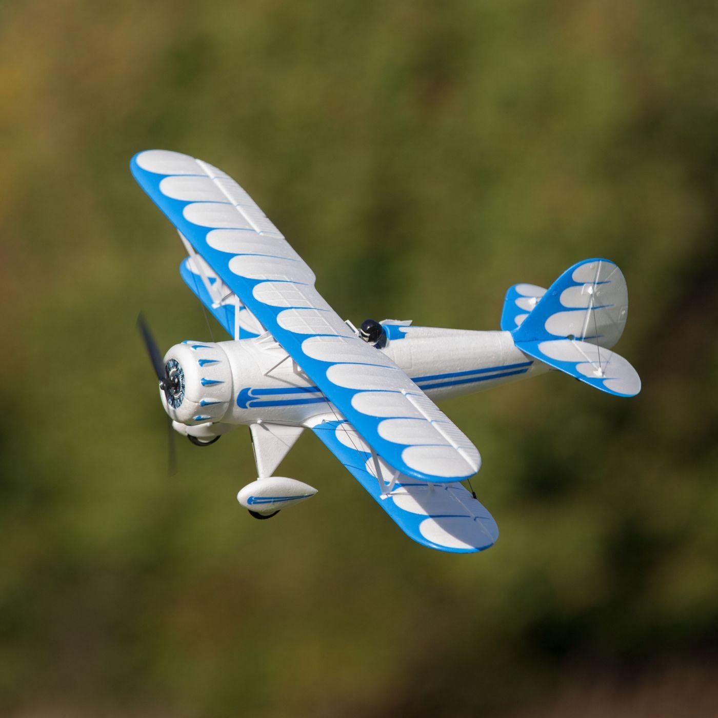 E-flite UMX Waco Biplano BL EDF BNF AS3X 06