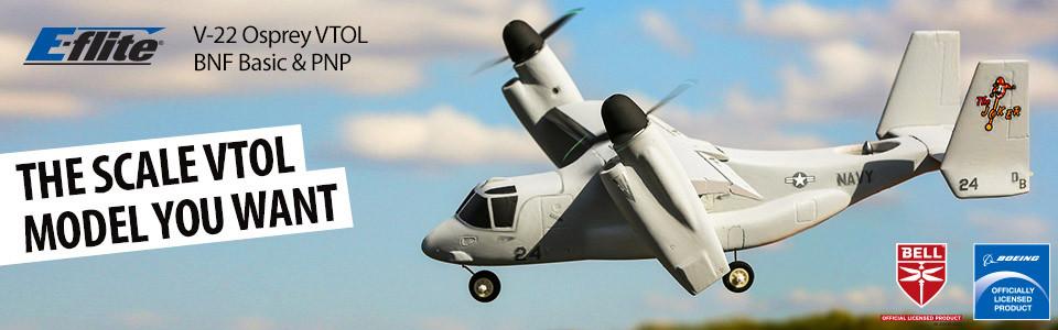 E-flite V-22 Osprey VTOL BNF Basic 01