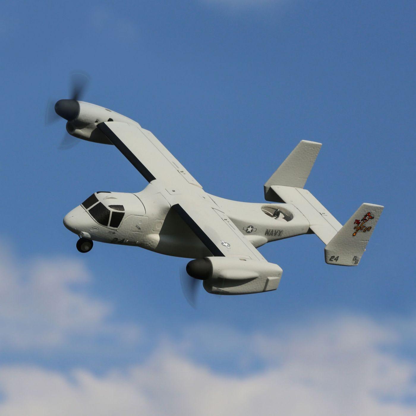 E-flite V-22 Osprey VTOL BNF Basic 04