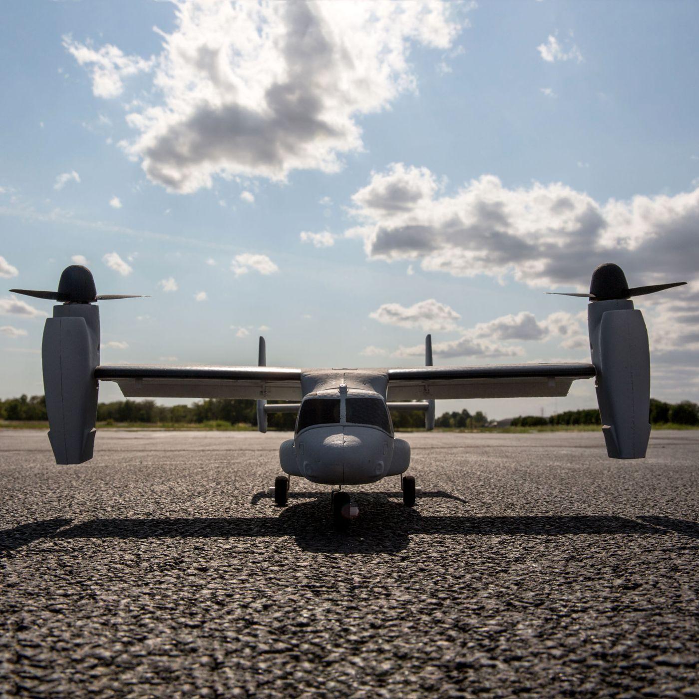 E-flite V-22 Osprey VTOL BNF Basic 05