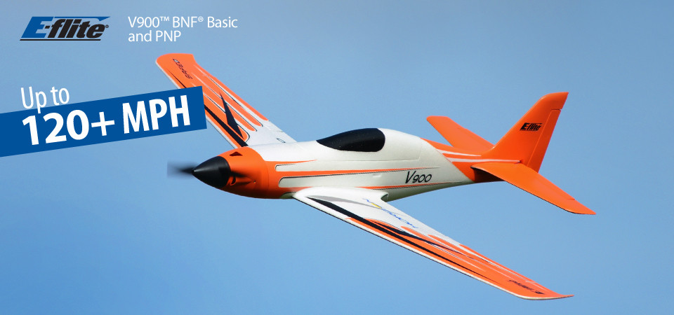 E-flite V-900 BNF Basic Safe As3x 01