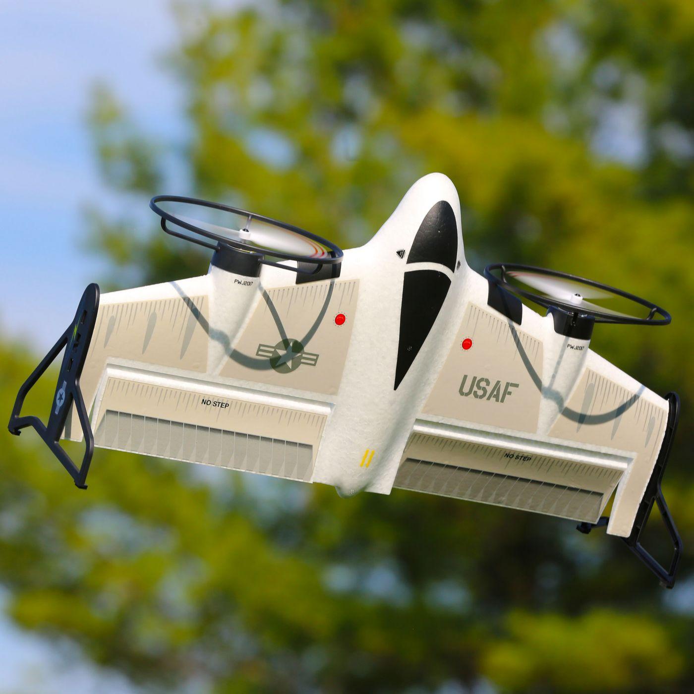 E flite X-Vert VTOL AS3X SAFE BNF 01