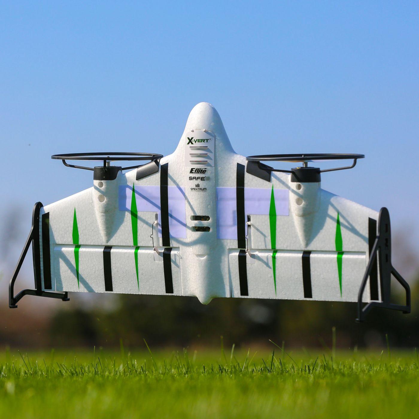 E flite X-Vert VTOL AS3X SAFE BNF 11