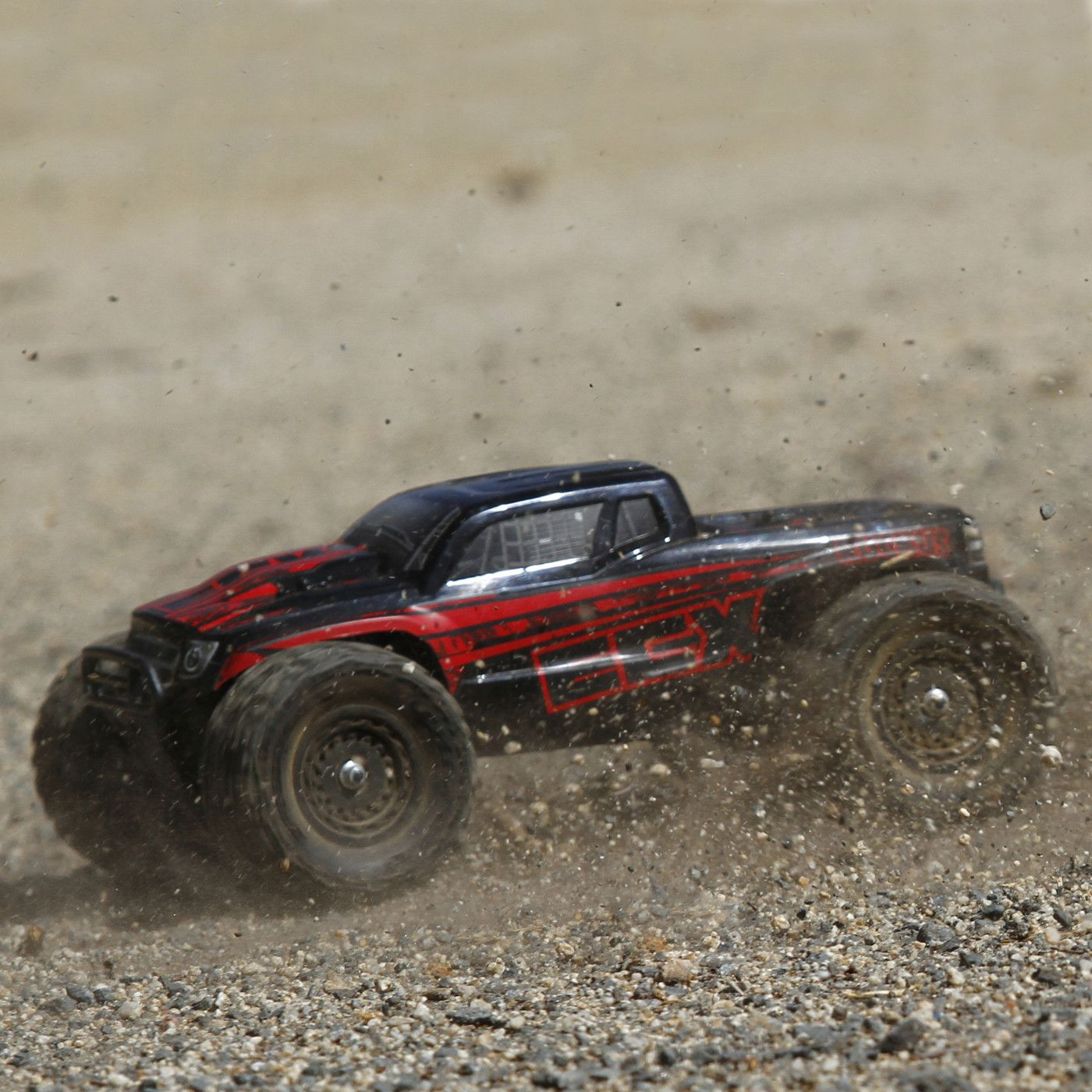 ecx ruckus monster truck 4wd rc rtr 01