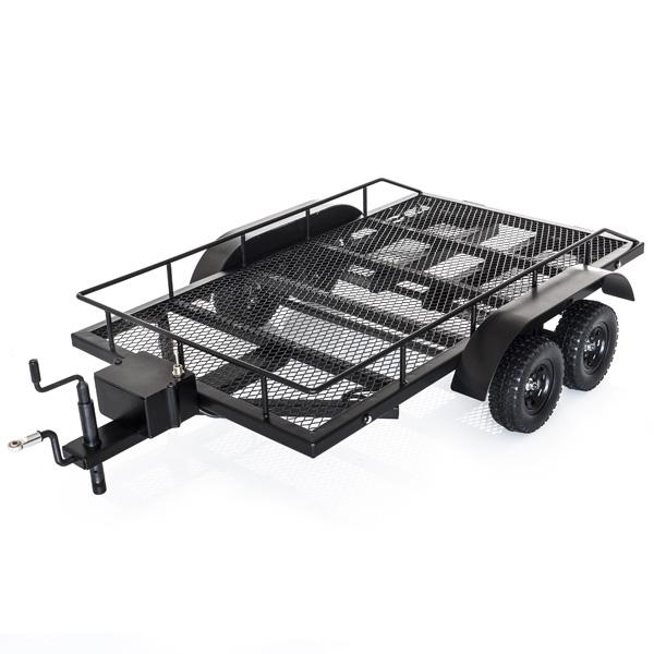 Carrello Scaler RC in metallo 1/10 con rampe e Led 1