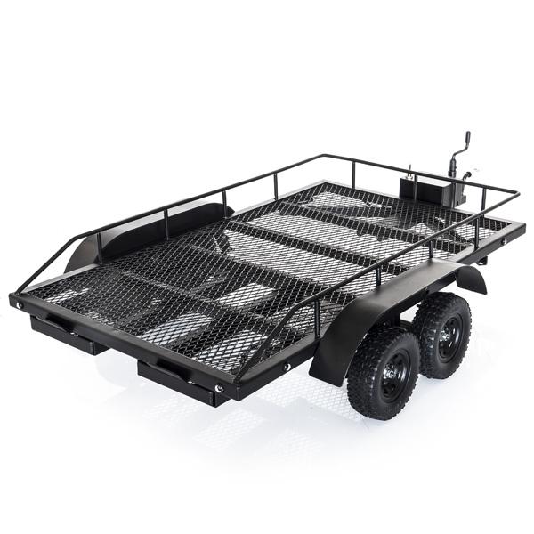 Carrello Scaler RC in metallo 1/10 con rampe e Led 2