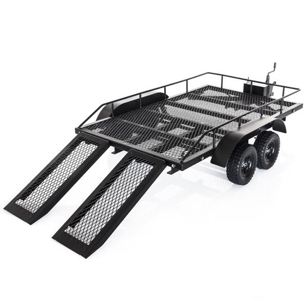 Carrello Scaler RC in metallo 1/10 con rampe e Led 3