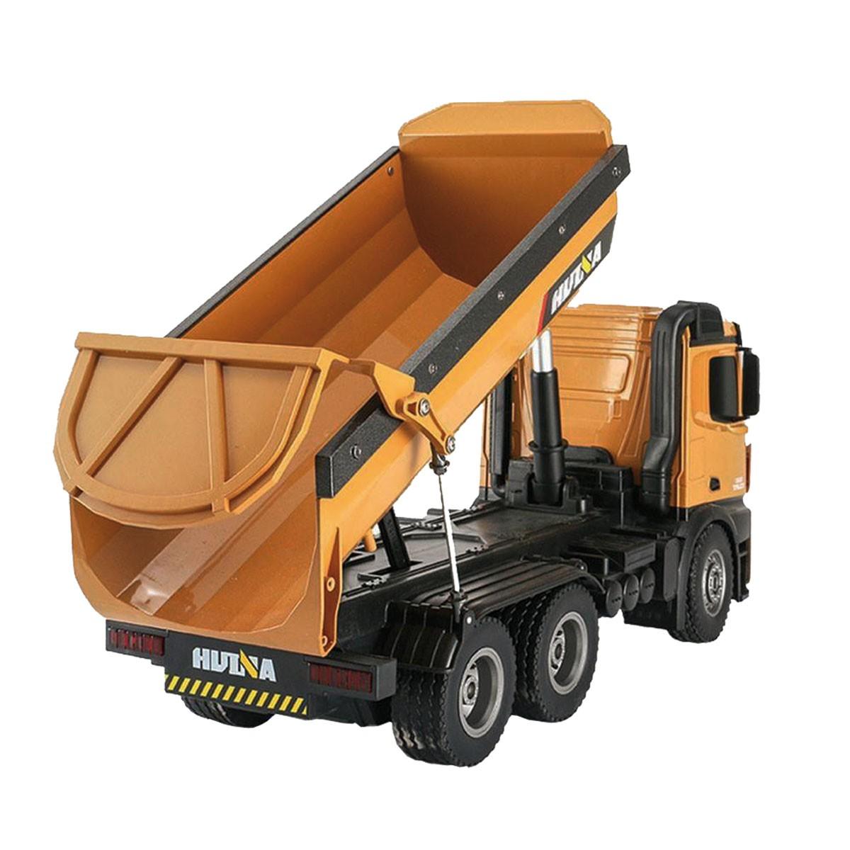 Huina Quarry Truck Metal  1 _14 2_4Ghz 01