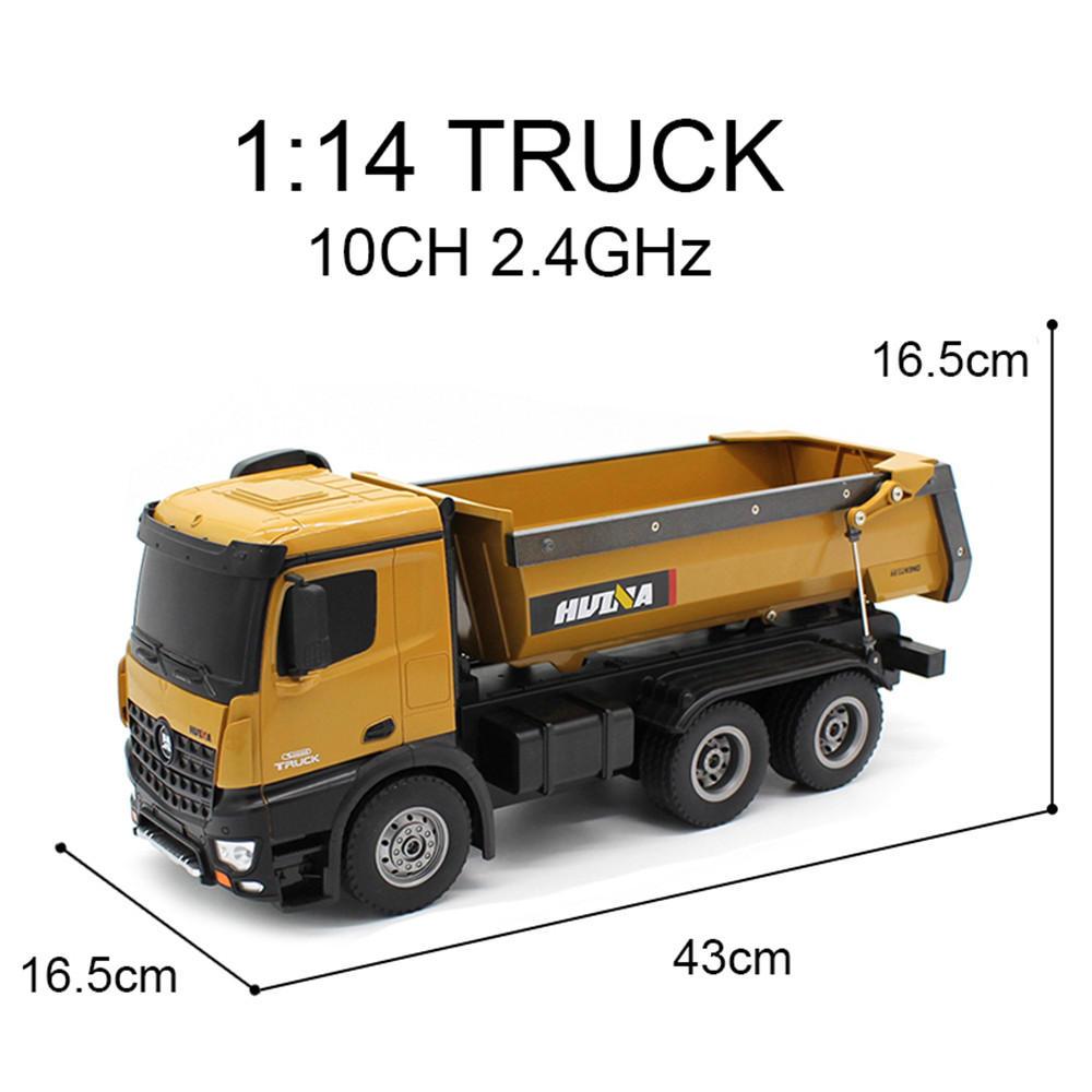 Huina Camion da Cava rc Dump Truck RTR 03m