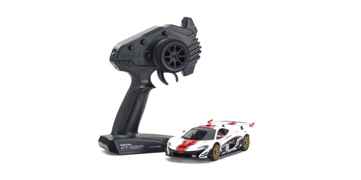 Kyosho Mini-z RWD McLaren P1 GTR red 01