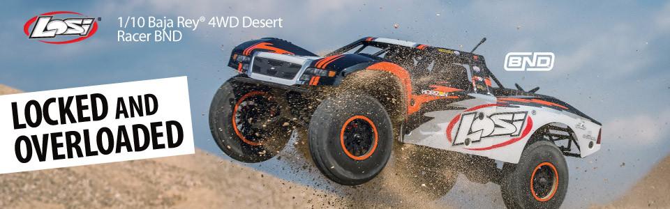 Losi Baja Rey Desert Racer brushless bnd 1