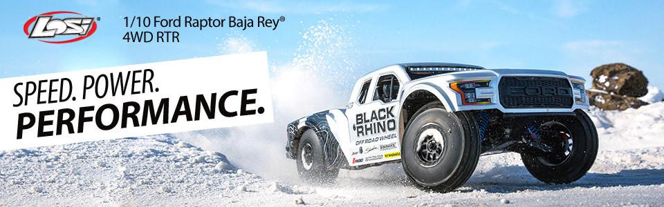 Losi Ford Raptor Baja Desert Racer brushless rtr 1