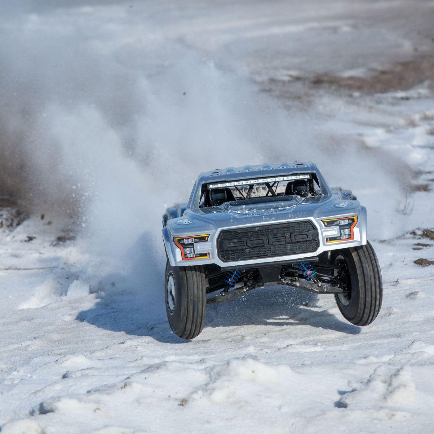 Losi Ford Raptor Baja Desert Racer brushless rtr 2