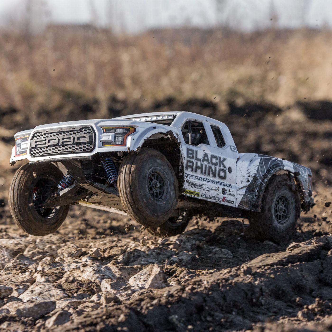 Losi Ford Raptor Baja Desert Racer brushless rtr 13