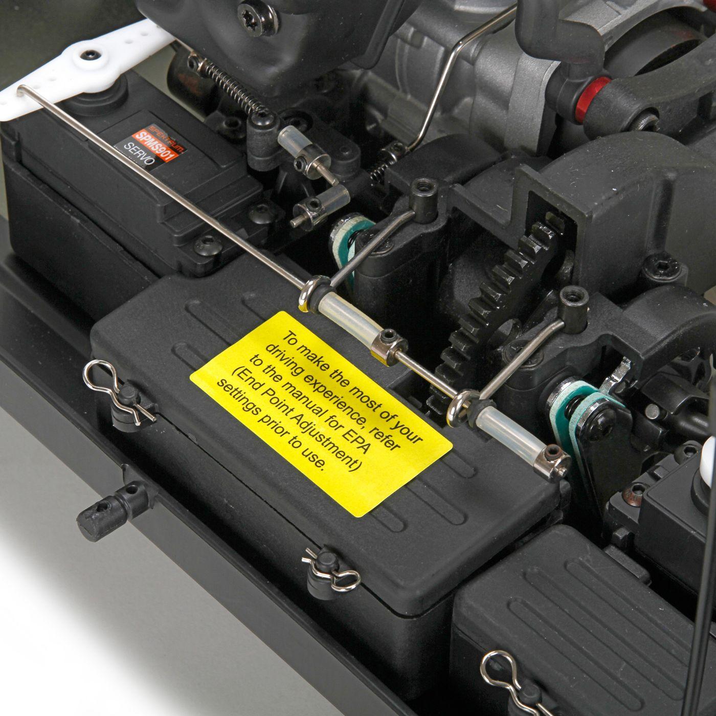 Losi K & N Desert Buggy XL Gas 23cc 1/5 4WD RTR 5