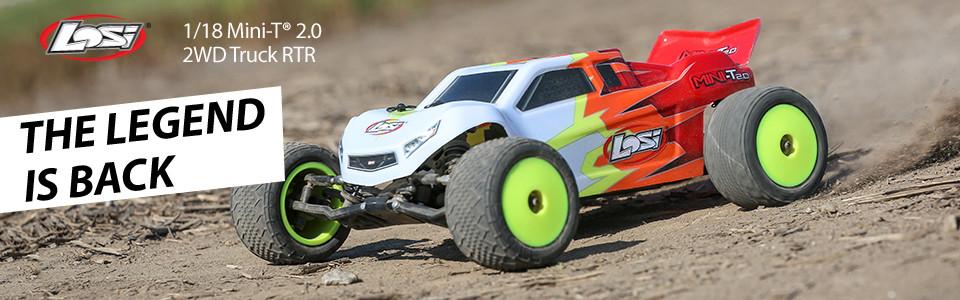 Losi Mini T 2.0 2wd Stadium Truck 1/18 RTR 01