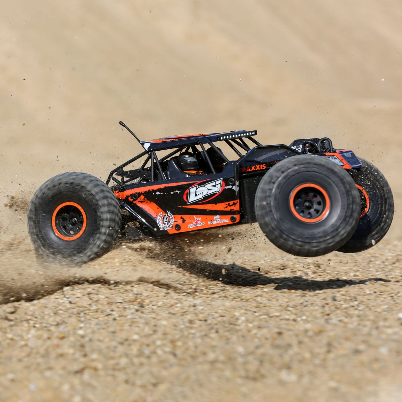 Losi Rock Rey Buggy Rock Racer brushless avc bnd 5