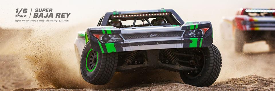 Losi Super Baja Rey Brushless 1/6 4WD RTR 1