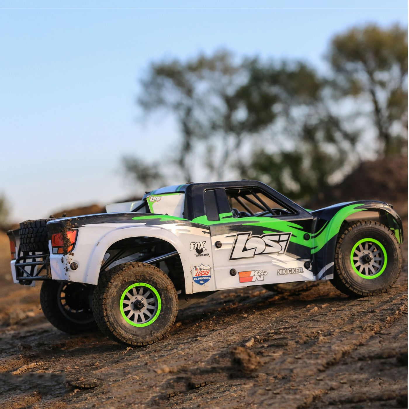 Losi Super Baja Rey Brushless 1/6 4WD RTR 12